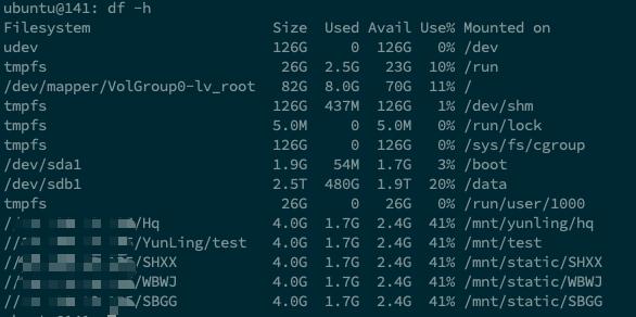 linux-df